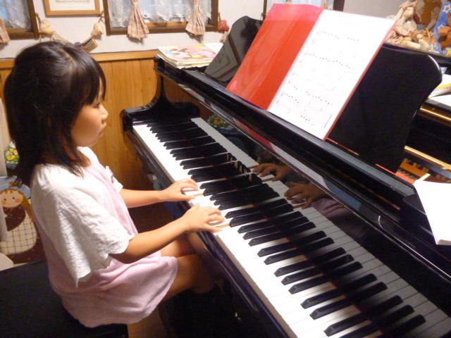 8.28 ピアノレッスンK