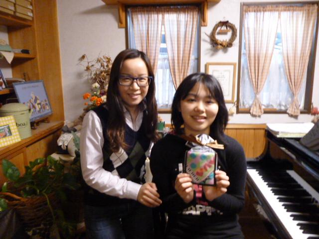 ピアノ入会1周年S