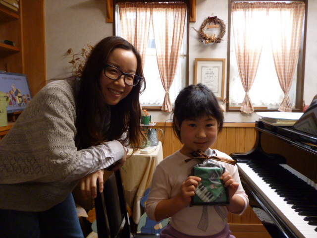 ピアノ入会1周年m