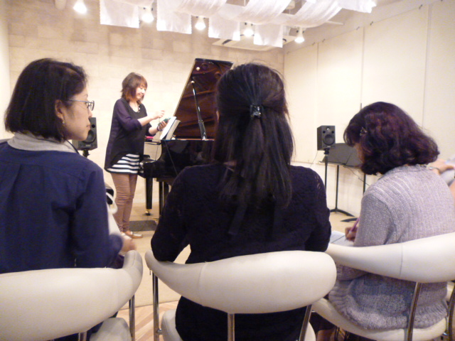 仙台市青葉区サフラン ピアノ指導法セミナー1