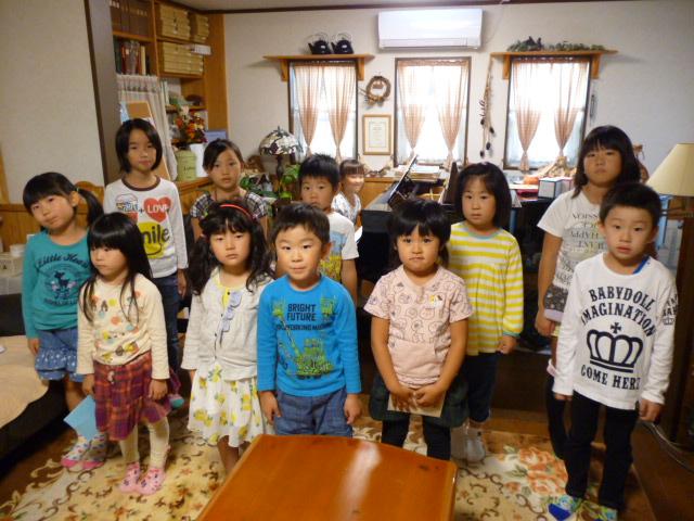 仙台市泉区のピアノ教室のブログ合唱